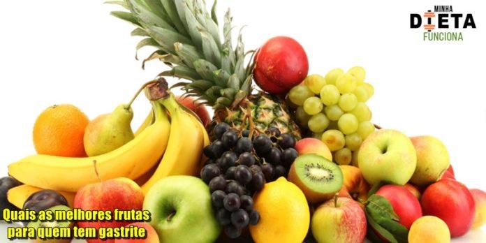 Quais as melhores frutas para quem tem gastrite