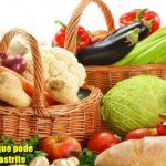 Quais os alimentos que pode comer quem tem gastrite?