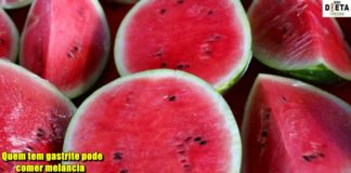 Quem tem gastrite pode comer melancia