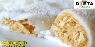 Quem tem gordura no figado pode comer tapioca de frango