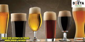 Quem tem gordura no figado pode tomar cerveja