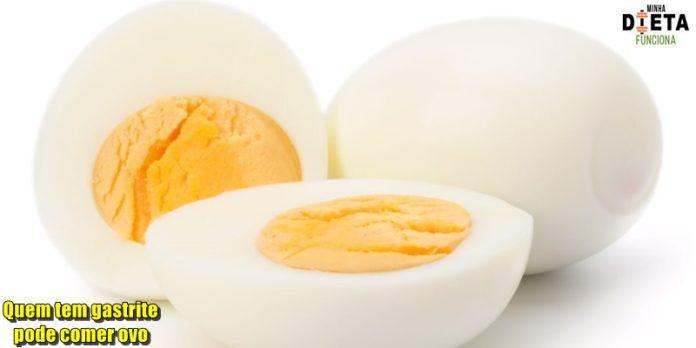 Quem tem gastrite pode comer ovo